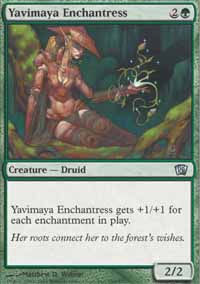 Yavimaya Enchantress - 8th Edition