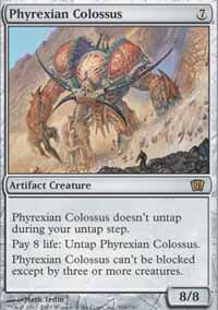 Phyrexian Colossus - 8th Edition
