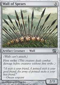 Wall of Spears - 8th Edition