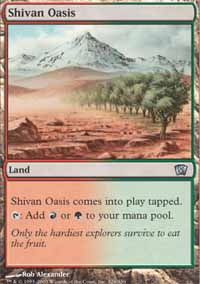 Shivan Oasis - 8th Edition