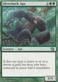 Silverback Ape - 8th Edition