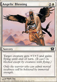 Angelic Blessing - 9th Edition