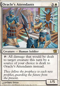 Oracle's Attendants - 9th Edition