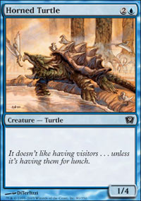 Horned Turtle - 9th Edition
