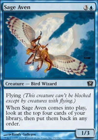 Sage Aven - 9th Edition