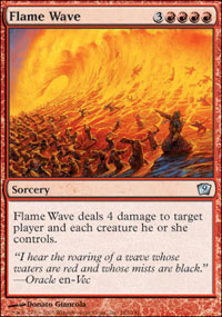 Flame Wave - 9th Edition