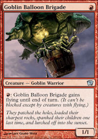 Goblin Balloon Brigade - 9th Edition