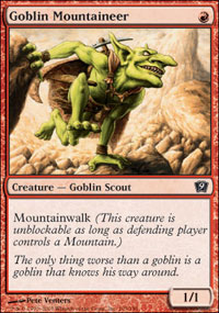 Goblin Mountaineer - 9th Edition