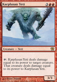 Karplusan Yeti - 9th Edition
