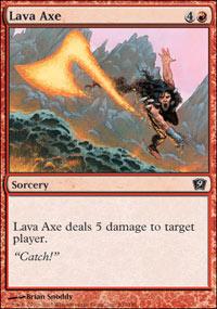 Lava Axe - 9th Edition