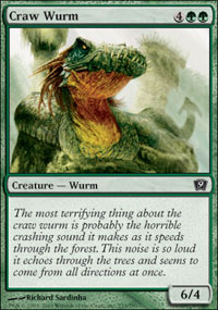 Craw Wurm - 9th Edition