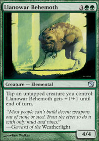 Llanowar Behemoth - 9th Edition