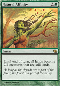 Natural Affinity - 9th Edition