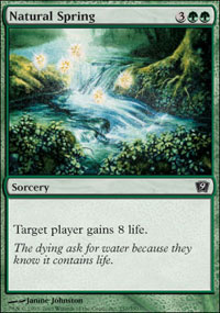 Natural Spring - 9th Edition