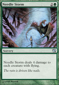 Needle Storm - 9th Edition