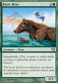 River Bear - 9th Edition