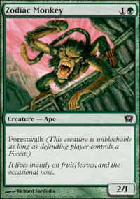 Zodiac Monkey - 9th Edition