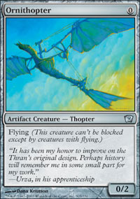 Ornithopter - 9th Edition
