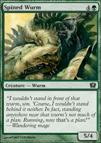 Spined Wurm - 9th Edition