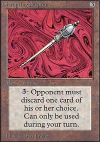 Disrupting Scepter - Unlimited
