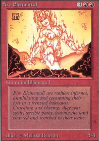 Fire Elemental - Unlimited