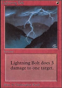 Lightning Bolt - Unlimited