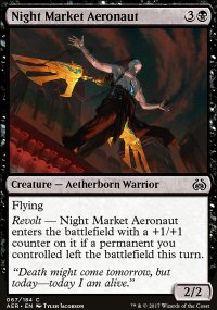Night Market Aeronaut - Aether Revolt