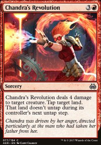 Chandra's Revolution - Aether Revolt
