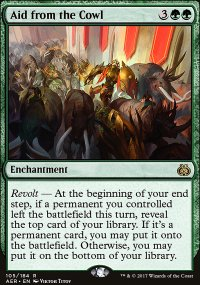 Aid from the Cowl - Aether Revolt