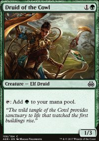 Druid of the Cowl - Aether Revolt