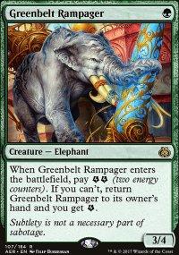 Greenbelt Rampager - Aether Revolt