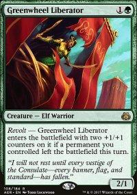 Greenwheel Liberator - Aether Revolt