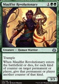 Maulfist Revolutionary - Aether Revolt