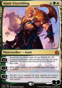 Ajani Unyielding - Aether Revolt
