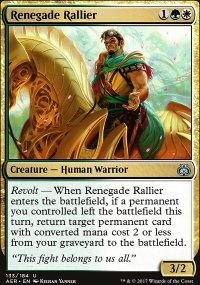 Renegade Rallier - Aether Revolt