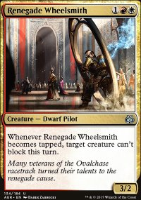 Renegade Wheelsmith - Aether Revolt