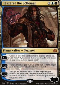 Tezzeret the Schemer - Aether Revolt