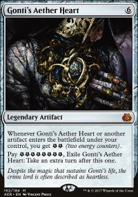 Gonti's Aether Heart - Aether Revolt