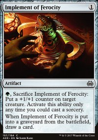 Implement of Ferocity - Aether Revolt