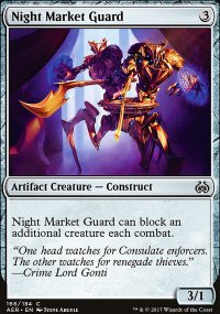 Night Market Guard - Aether Revolt