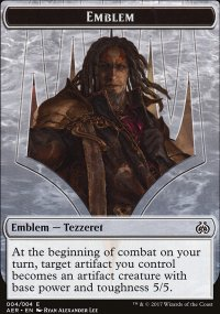 Emblem Tezzeret the Schemer - Aether Revolt