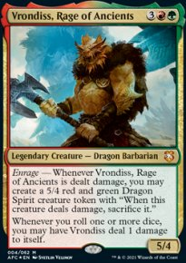 Vrondiss, Rage of Ancients 1 - D&D Forgotten Realms Commander Decks