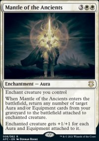 Mantle of the Ancients 1 - D&D Forgotten Realms Commander Decks