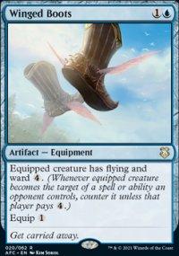Winged Boots 1 - D&D Forgotten Realms Commander Decks