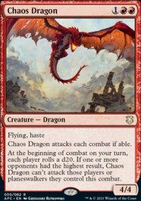 Chaos Dragon 1 - D&D Forgotten Realms Commander Decks