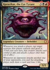 Karazikar, the Eye Tyrant 1 - D&D Forgotten Realms Commander Decks