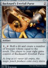 Bucknard's Everfull Purse - D&D Forgotten Realms Commander Decks