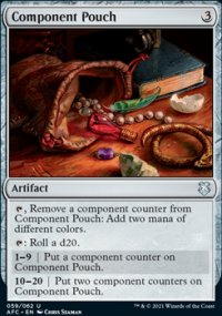 Component Pouch - D&D Forgotten Realms Commander Decks