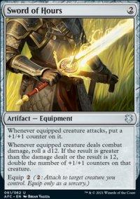 Sword of Hours - D&D Forgotten Realms Commander Decks