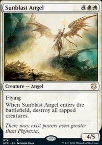 Sunblast Angel - D&D Forgotten Realms Commander Decks